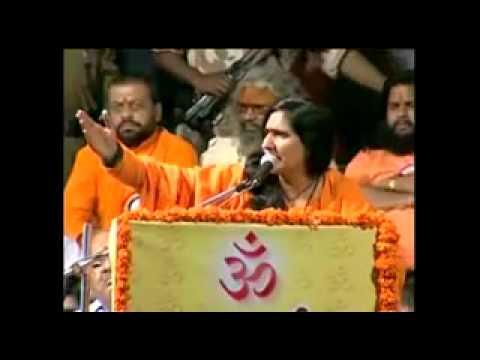 Indians not afraid of terrorism - Sadhvi Ritambhara - Dharma Raksha Manch Sankalpa Sabha