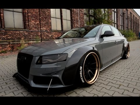 Audi A4V8 DTM carbon widebody by wojtsen