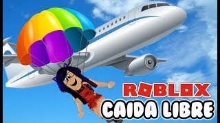 CAIDA LIBRE 999,999,999 | Escape the Plane Crash Obby | Kori Roblox