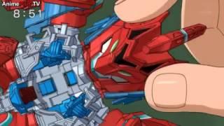Cross Fight B Daman eS Episode 1 - I Am Burning! Drive=Garuburn!