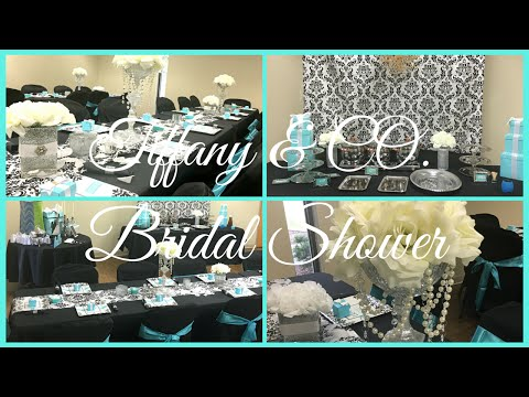 Bridal Shower ~ Tiffany & Co. Theme | Breakfast At Tiffany's
