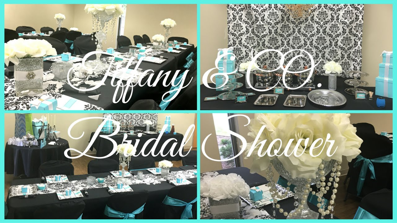 bridal shower tiffany co theme breakfast at tiffanys youtube