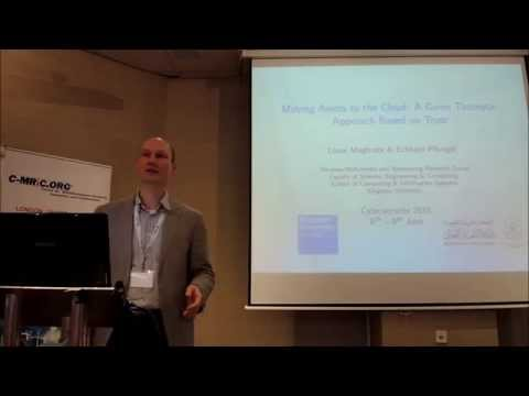 Cyber Science 2015 Moving Assets to Cloud   A Game Theoretic Approach Based on Trust Part 1