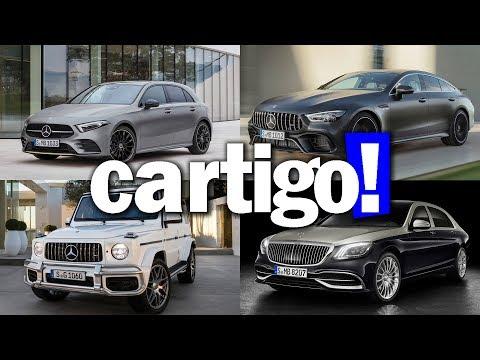 Cartigo! #35 - Mercedes: Classe A, C, G, Maybach e AMG GT 4 Door | ApC