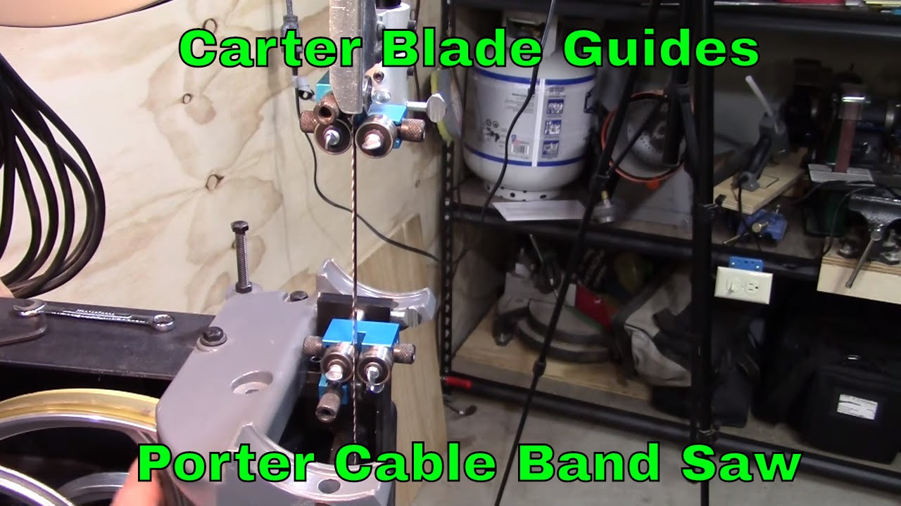 Porter cable band saw carter blade guides ep2016 20 youtube porter cable band saw carter blade guides ep2016 20 greentooth Gallery