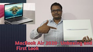 MacBook Air 2020- Unboxing and First View #MacBookAir2020