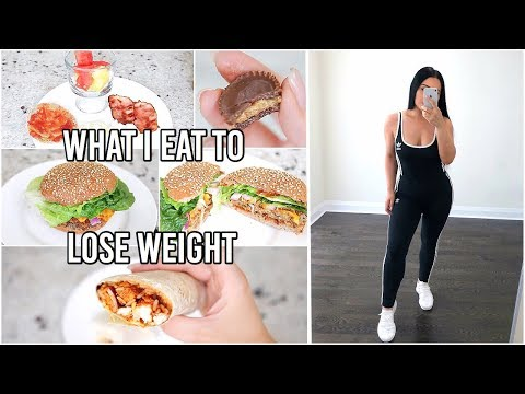 What I Eat In A Day to LOSE WEIGHT – How I Lost 38 lbs