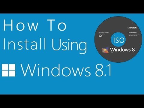 How To Install Windows Or Using Dvd