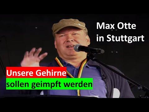 MAX OTTE - Bei der Demo in Stuttgart am 31. Mai 2020