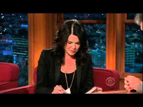 Late Late  with Craig Ferguson 10302009 Lauren Graham, Jessalyn Gilsig, Fruit Bats