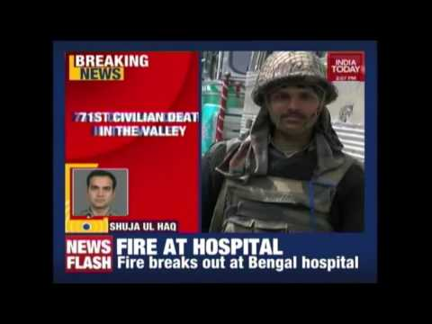 Youth Dies After Chased By CRPF Jawans In Anantnag, Kashmir