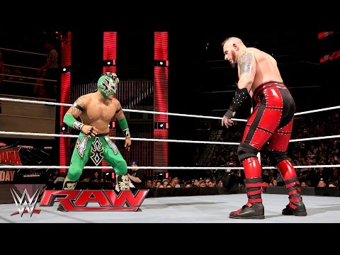 Kalisto vs. Konnor: Raw, March 28, 2016