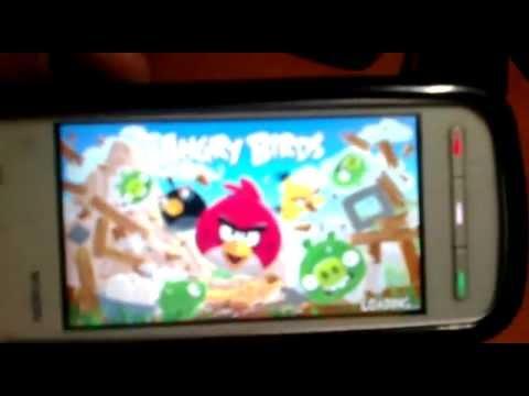 Angry Birds En Nokia 5230 S60V5