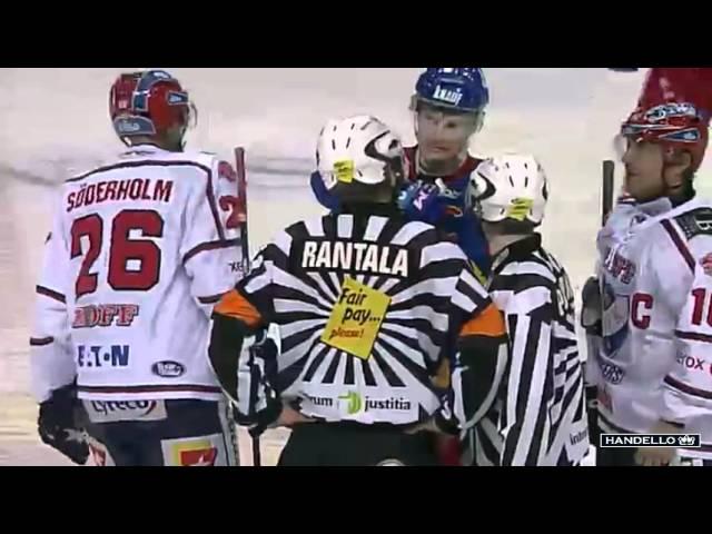 Jarkko Ruudun naurettava show kokonaisuudessaan - Jokerit-HIFK 05.12.2011