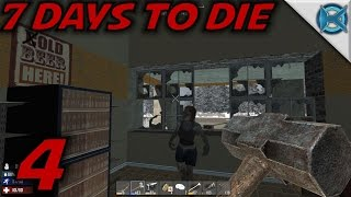 "7 Days to Die -Ep. 4- ""Sledge Hammer & Night Sneaking"" -Gameplay / Let's Play- Alpha 13.6 (S13.6)"