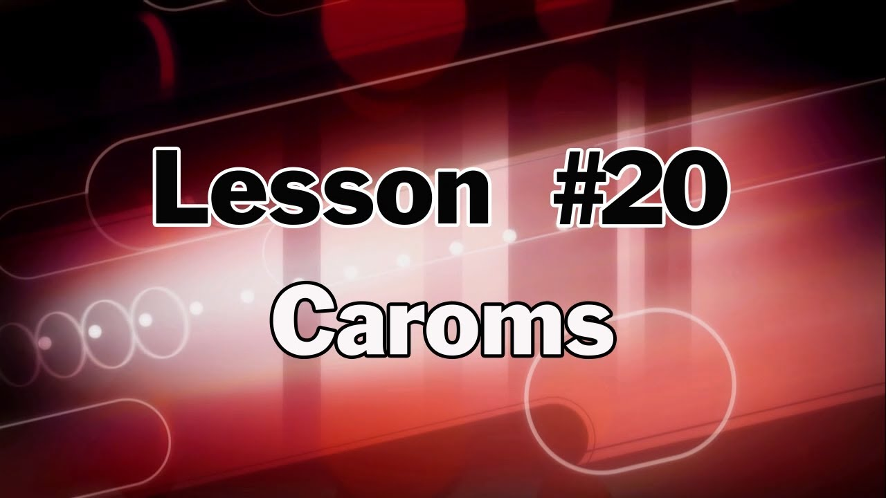 Pool Lessons & Billiards Instruction - How to do Carom Shots - Terry Bell Master Class #20