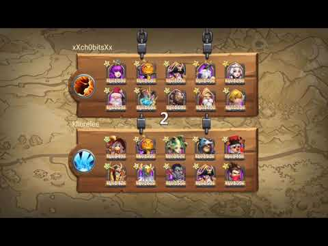 Castle Clash - Arid Ruins Glitch