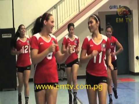 Guam's Women's Volleyball Team Ready