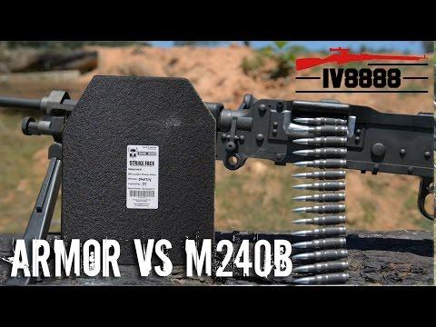 AR500 Armor vs M240 Bravo