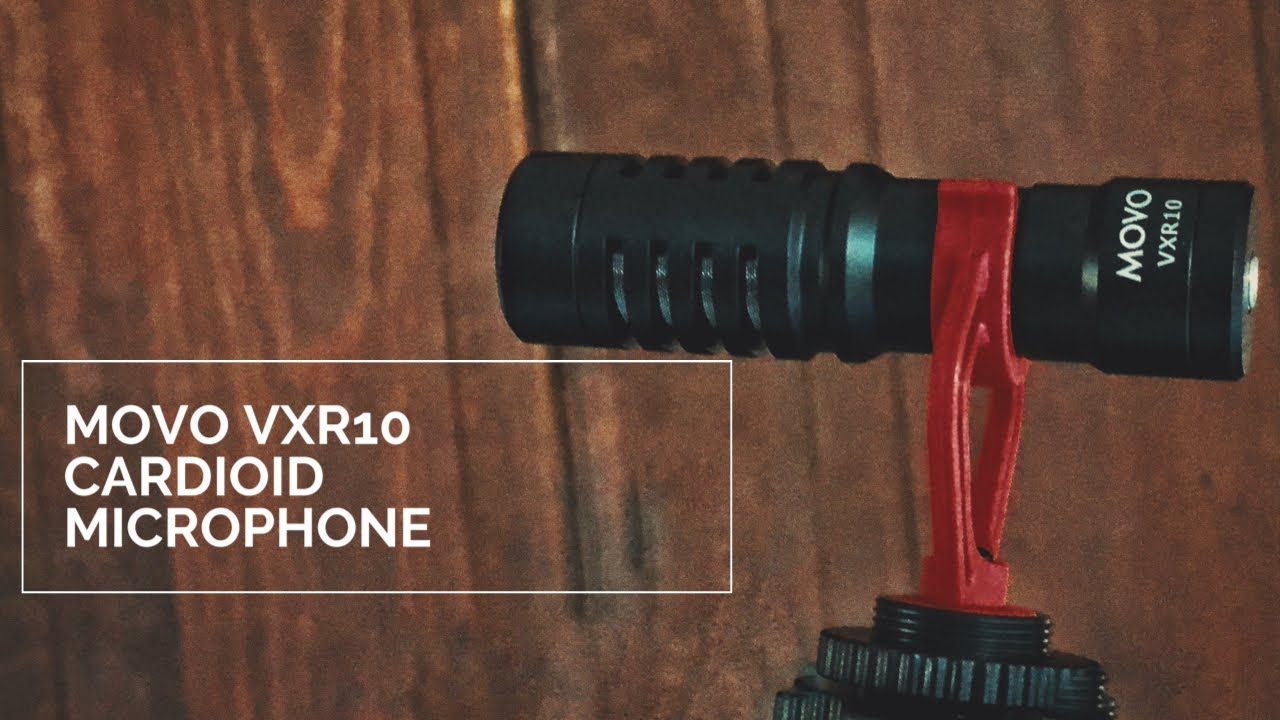 Movo VXR10 Microphone Unboxing + Review
