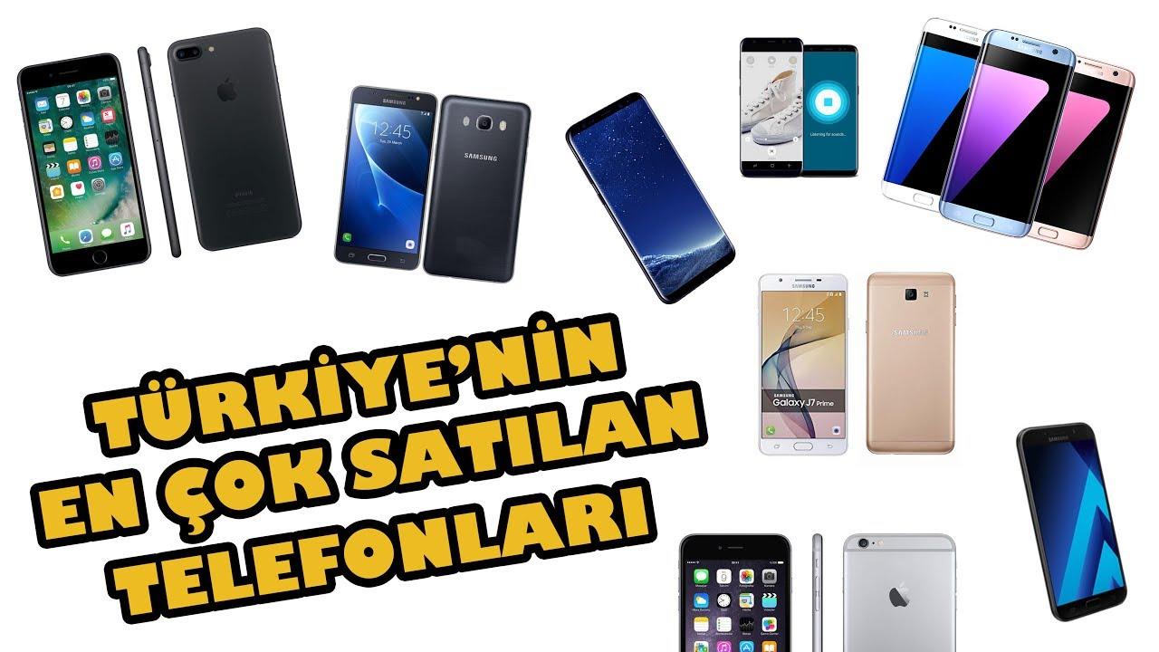 IPHONE'U BİLE GEÇTİ!  - TÜRKİYE'NİN EN ÇOK SATAN TELEFONLARI!