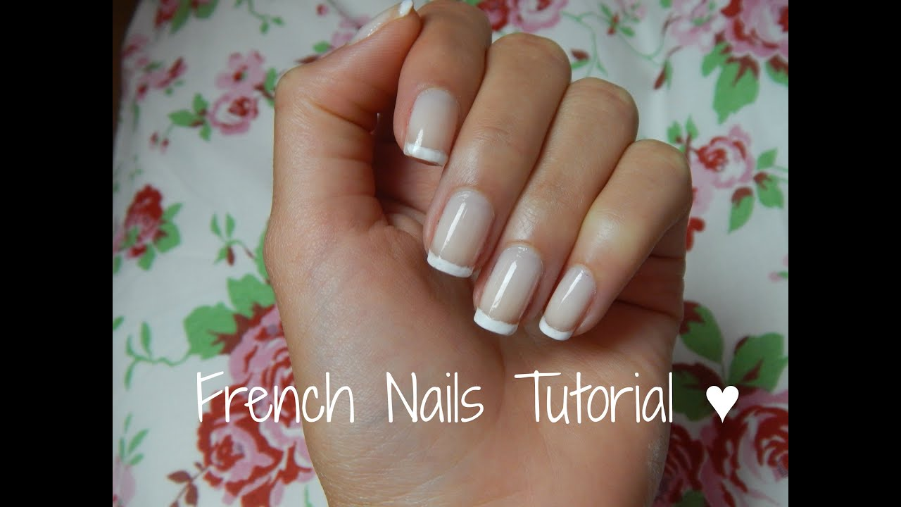 French Nägel Die Perfekten French Nails Auf 3 Wegen