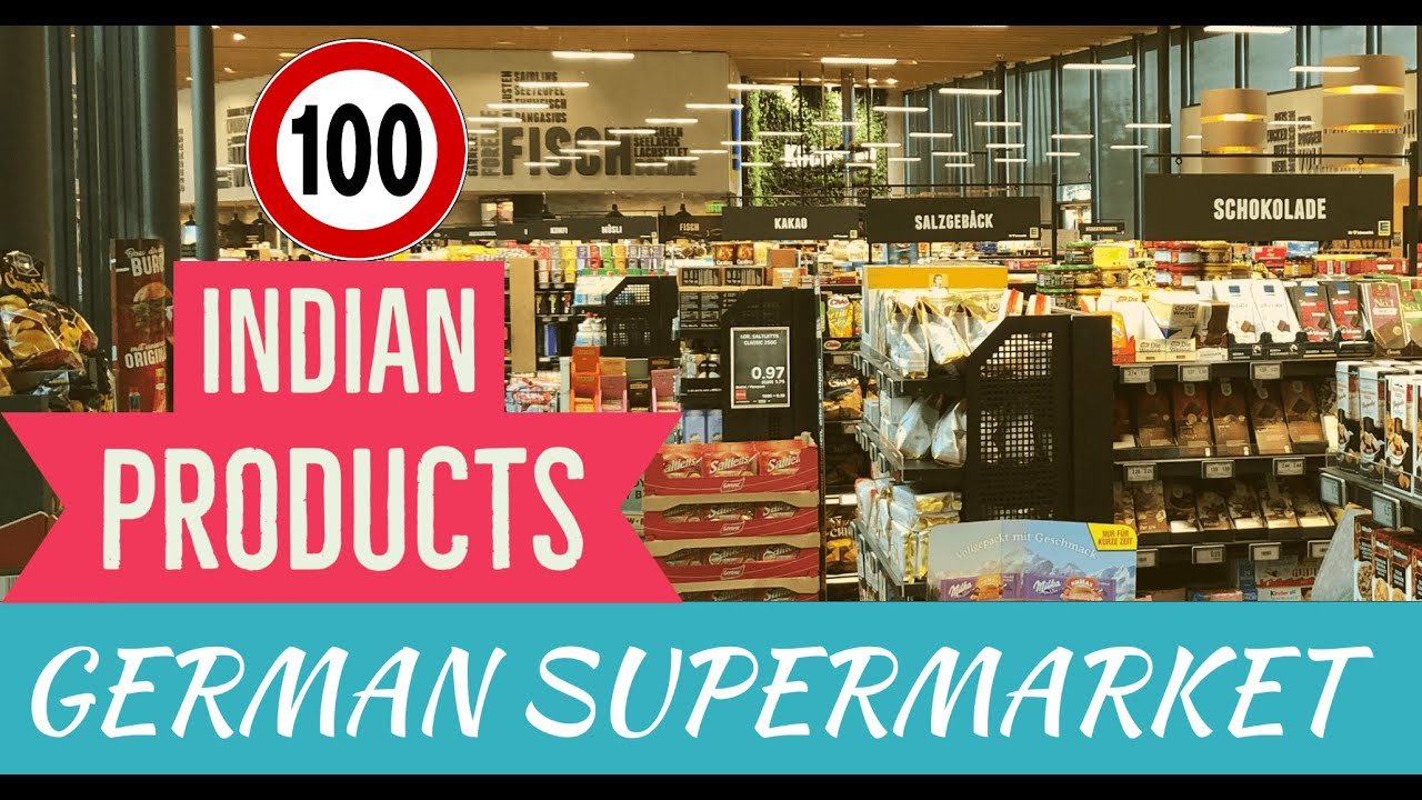 100 INDIAN GROCERY SUBSTITUTES + READY TO EAT Products in GERMAN SUPERMARKET -ALDI, EDEKA, REWE, Etc