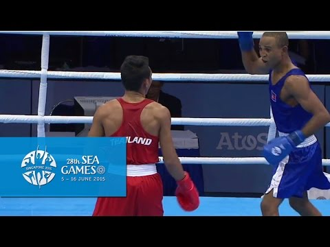Boxing (Day 5) Men's Light Welter Wt. (64kg) Finals Bout 72 | 28th SEA Games Singapore 2015