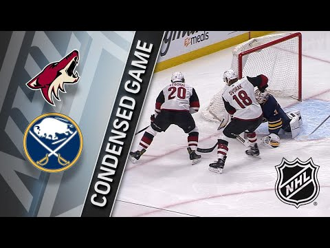 03/21/18 Condensed Game: Coyotes @ Sabres