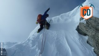 Rare Winter Alpine Ascent On Grandes Jorasses Causes Controversy | Climbing Daily, Ep. 695