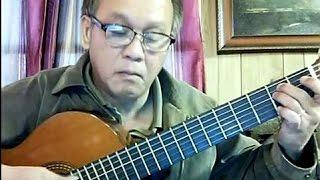 Ru Con Tình Cũ (Đynh Trầm Ca) - Guitar Cover by Bao Hoang