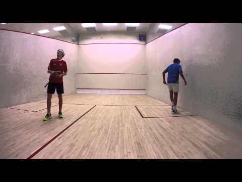 US Junior Open Squash BU17: Semi Finals Youseff Ibrahim and Spencer Lovejoy