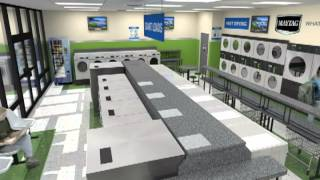 Northwest Laundry Supply - Maytag Equipped Laundry Store Design