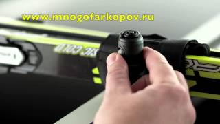Багажник для 1-ой пары лыж Thule Skiclick 729 (обзор,установка)