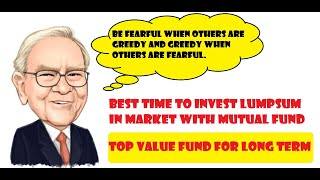 BEST MUTUAL FUND FOR LUMP-SUM INVESTMENT IN MARKET CORRECTION