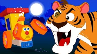 Ben the train and the tiger | tiger save your life | original songs for kids