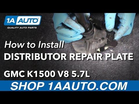 How to Install Distributor Repair Plate 96-99 GMC K1500 V8 5.7L