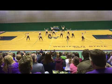 Endicott College Dance Team 2018 Open Pom Champions