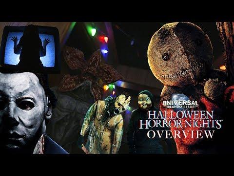 'Halloween Horror Nights' Orlando 2018 Overview