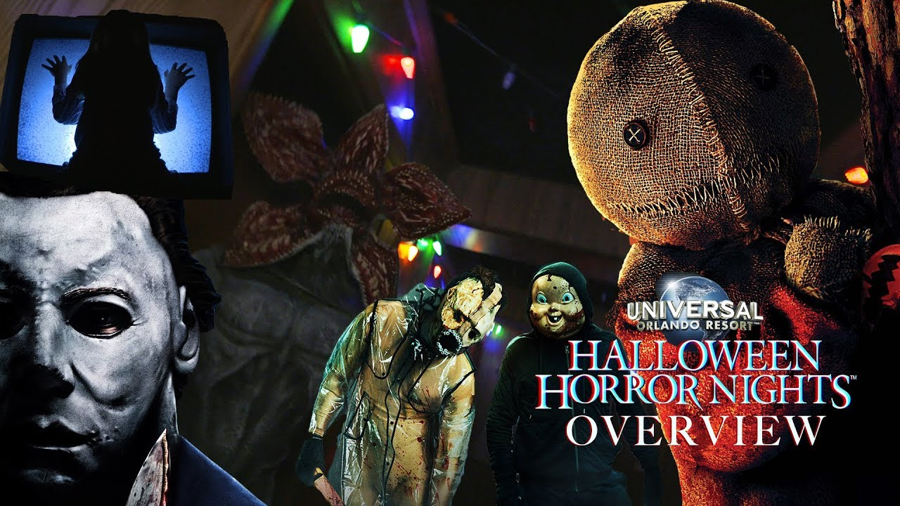 Youtube Halloween Horror Nights 2020 Halloween Horror Nights' Orlando 2018 Overview   YouTube