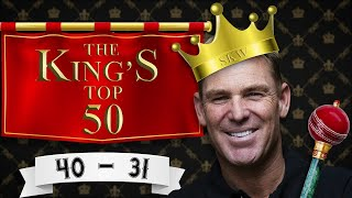 Shane Warne's top wickets on Aussie soil: 40-31