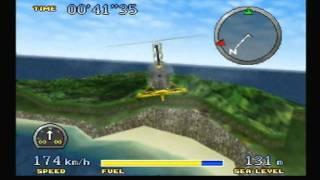 [N64] Pilotwings 64 Gameplay