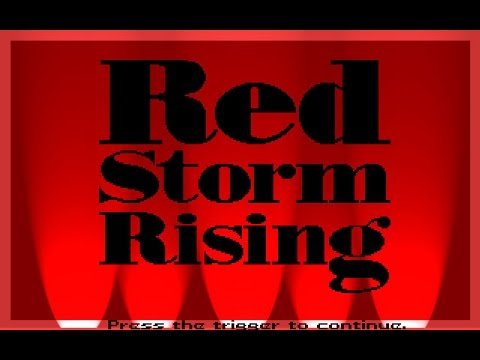 Tom Clancys Red Storm Rising (PC/DOS) 1989, MicroProse