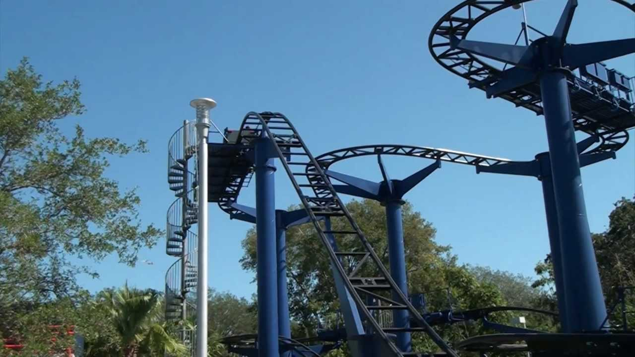 Technic Test Track Roller Coaster Pov Legoland Florida On Ride Wild Mouse You