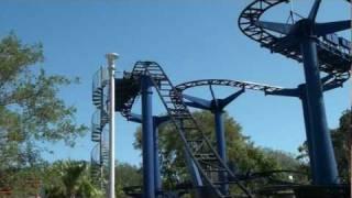 Technic Test Track Roller Coaster POV Legoland Florida On-Ride Wild Mouse