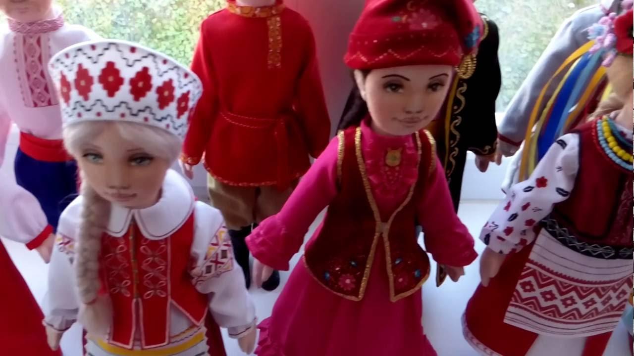Как сделать национальную куклу фото 610