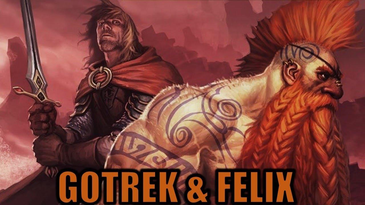 GOTREK and FELIX COMING TO WAR...