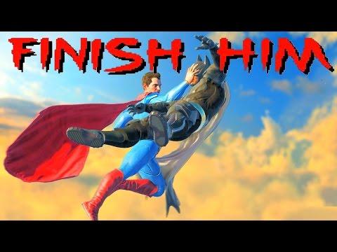 Get Injustice 2 Mortal Kombat Finish Him Easter Egg Screenshots