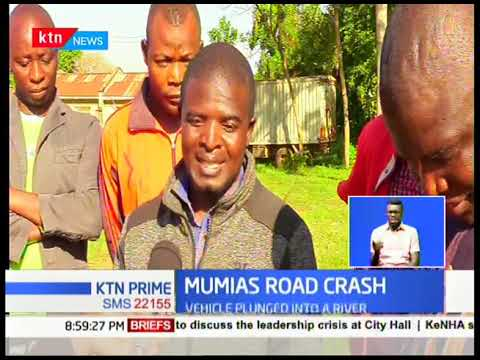 Mumias Road Crash: Five relatives killed in dawn accident
