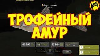 Русская Рыбалка 4 ТРОФЕЙНЫЙ АМУР старый острог